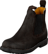 Park West - 40601 Suede/Dark Brown