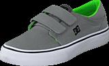 DC Shoes - Dc Kids Trase V Shoe Grey/Black/Green