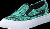 DC Shoes - Dc Kids Trase Slip-On Shoe Black/Blue