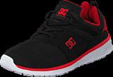 DC Shoes - Dc Kids Heathrow Shoe Black/Red
