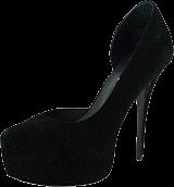 V Ave Shoe Repair - Scalene Stiletto Black/Suede