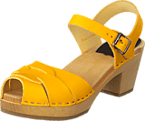 Swedish Hasbeens - Peep Toe High Yellow