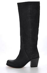 V Ave Shoe Repair - V Notch Boot Black