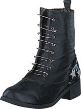 Fashion By C - Boot with saftynail Black