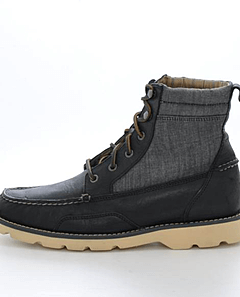 Sperry Topsider - Shipyard Rigger Boot Blk/Gr