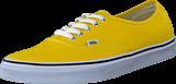 Vans - U Authentic Cyber Yellow/True White