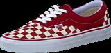 Vans - U Era (Checkerboard) Red/Natural