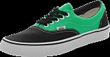 Vans - U ERA Black/Bright Green