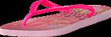 Havaianas - Kids Slim Princess Crystal Rose/Shocking Pink