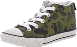 Converse - All Star Street Slip Mid Black/Olive Branch