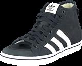 adidas Originals - Honey Stripes Mid W Core Black/Chalk White/White