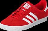 adidas Originals - Gazelle 2 J Lush Red S16-St/Ftwr White