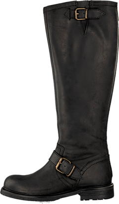 Billi Bi - 505 Black crazy horse/gold 902