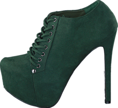 Sugarfree Shoes - Cornelia Dark Green