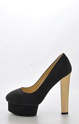 Sugarfree Shoes - Marica Black / Gold