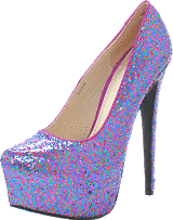 Sugarfree Shoes - Ninja Multiglitter