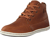Hub Footwear - Subway Leather/Leather Brown