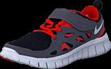 Nike - Nike Free Run 2 (Psv) Black/White-Dark Grey-Lt Crmsn