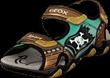 Geox - Jr Sandal Strike Brown/Gold