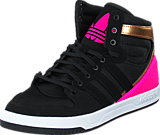 adidas Originals - Court Attitude K Core Black/Shock Pink S16