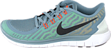 Nike - Nike Free 5.0 Dove Grey/Black Electricgrn