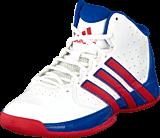 adidas Sport Performance - Rise Up 2 Nba K White/Scarlet/Collegiate Royal