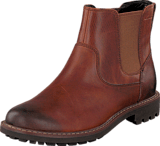 Clarks - Montacute Top Dark Tan Lea