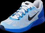 Nike - Nike Lunarglide 6 White/Black-Lyon Blue-Pht Blue