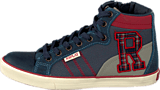 Replay - New Collage Wear Inverness Navy Red