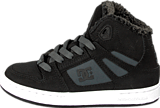 DC Shoes - Kids Rebound Wnt Shoe Black/Charcoal