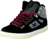 DC Shoes - Spartan High Wc Wnt Shoe Black/Rinse