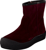 Hush Puppies - Curling boot Burgundy