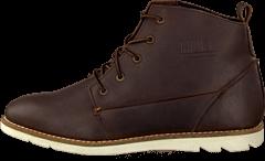 Hub Footwear - Jag Dk Brown/White