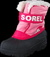 Sorel - Snow Commander 644 Coral Pink, Bright Rose