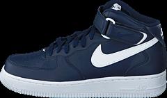 Nike - Air Force 1 Mid '07 Midnightnavy/White-White