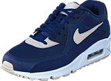 Nike - Wmns Air Max 90 Binary Blue/Oatmeal-White-Mtlc
