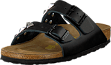 Birkenstock - Arizona Slim Leather Black Pyramid
