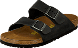Birkenstock - Arizona Regular Oiled Leather Black