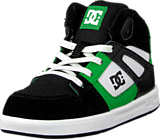 DC Shoes - Toddl. Rebound Ul Shoe Black/White/Emerald