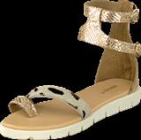Amust - Kaya sandal Gold/beige