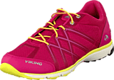 Viking - Marka W Dark Pink/Yellow