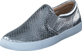 Clarks - Glove Puppet Silver Leather