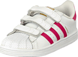 adidas Originals - Superstar Foundation Cf I Ftwr White/Bold Pink