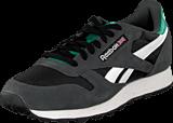 Reebok Classic - Classic Sport Gravel/Black/Teal Energy/White