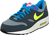 Nike - Nike Air Max 1 (GS) Gray Volt Pink