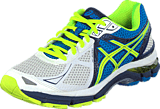 Asics - GT-2000 3 White/Flash Yellow/Indigo Blue