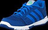 adidas Sport Performance - Essential Star 2 K Eqt Blue/Shock Blue/Green Glow