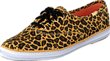 Keds - Champion Leopard Twill Tan