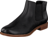 Clarks - Taylor Shine Black Leather