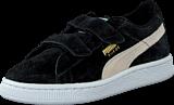 Puma - Suede 2 Straps Kids Black